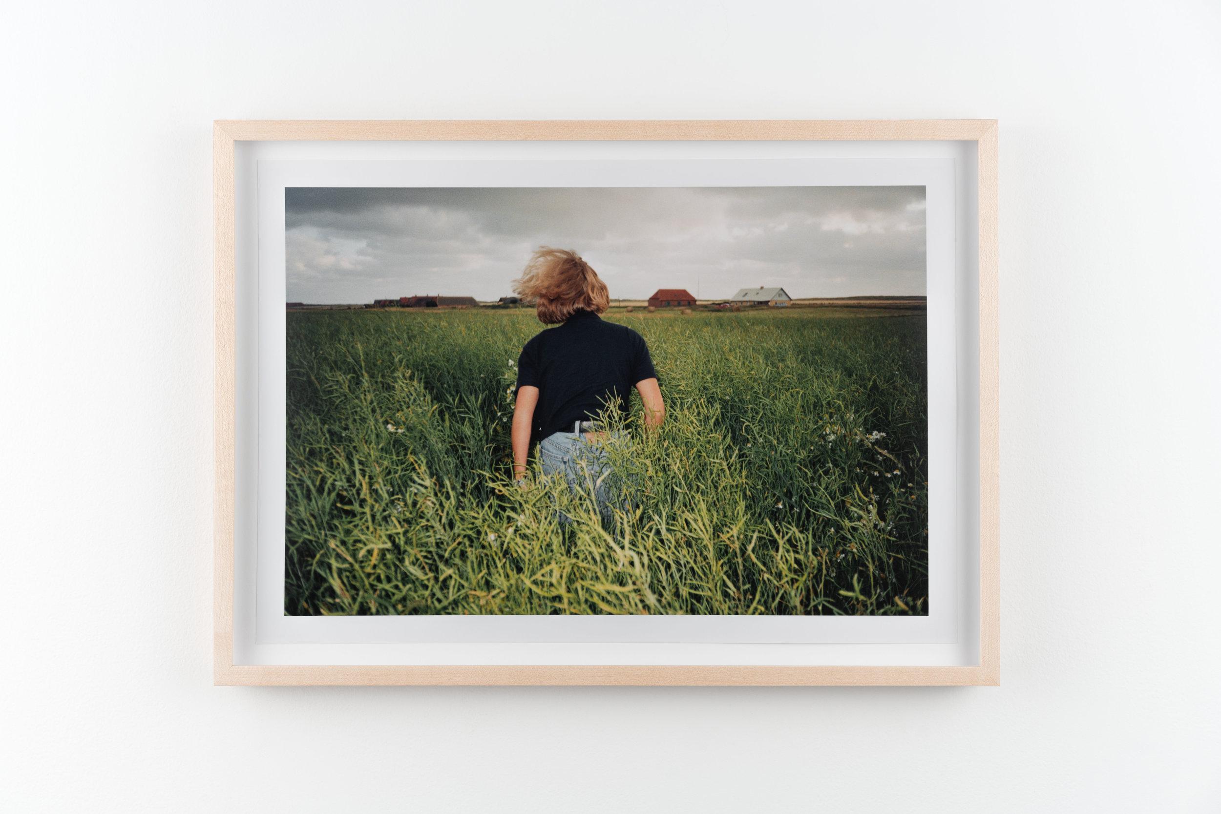 Christina 1 , 1995/2018 Hand-printed c-print 21.8 x 32.8 cm (28.5 x 39.5 cm framed)