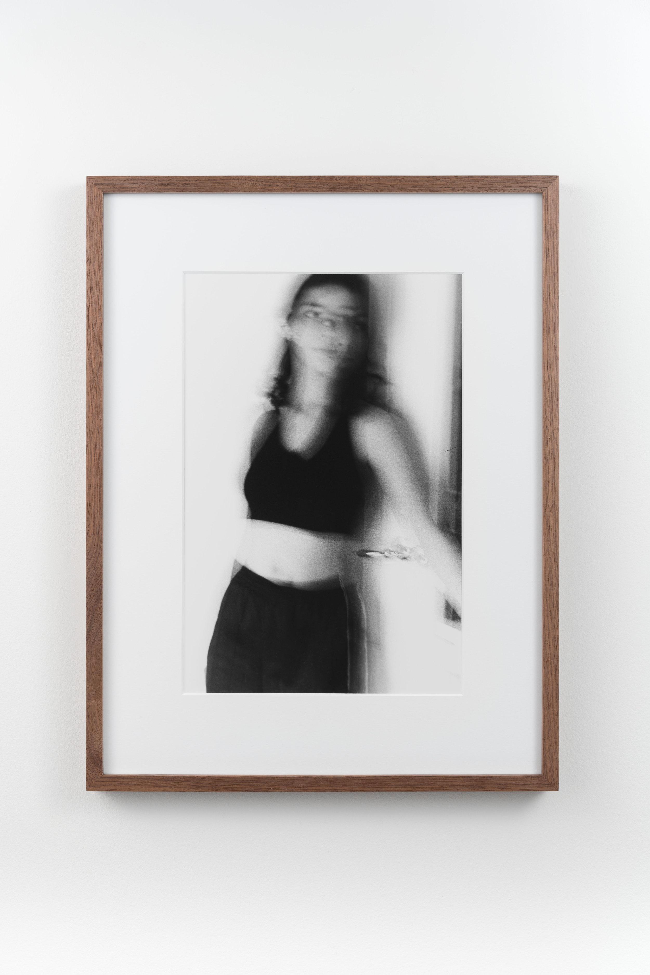 Siggie 2 , 1996/2018 Hand-printed silver gelatin print 32.8 x 21.8 cm (47.4 x 36.4 cm framed)