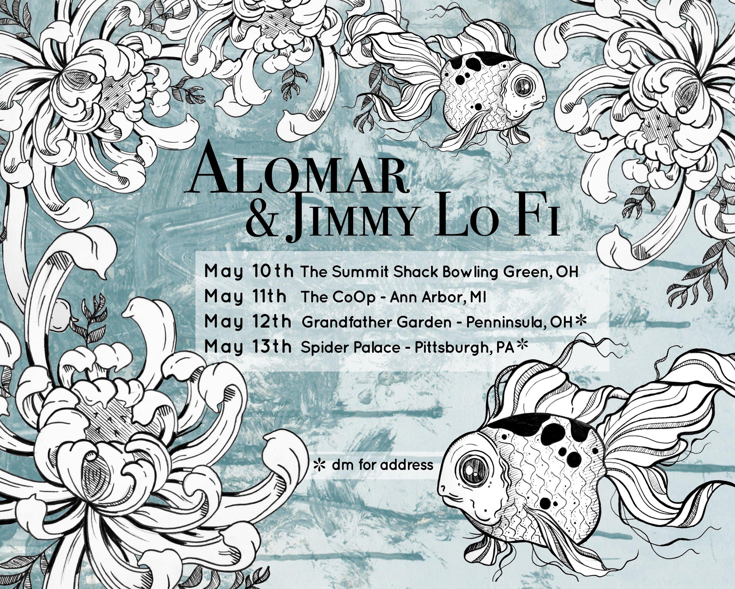 Tour Flyer by Alisha Uguccini