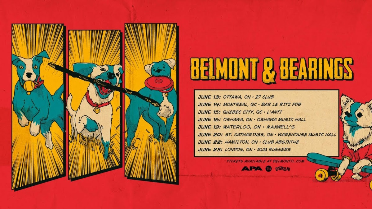 Locket are touring with Belmont and Bearings in Canada in June.