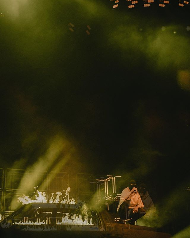 New issue out tømørrøw. Phøtø by @rickiemccanna . . . #nikon #musicphotography #mnstrmmedia  #columbuscreates #agameoftones #cd102.5 #justgoshoot #columbusohio #seenincolumbus #moodyfilm #concert #concertphotography #columbusvisuals #mnstrm #twentyonepilots #banditotour #banditocolumbus