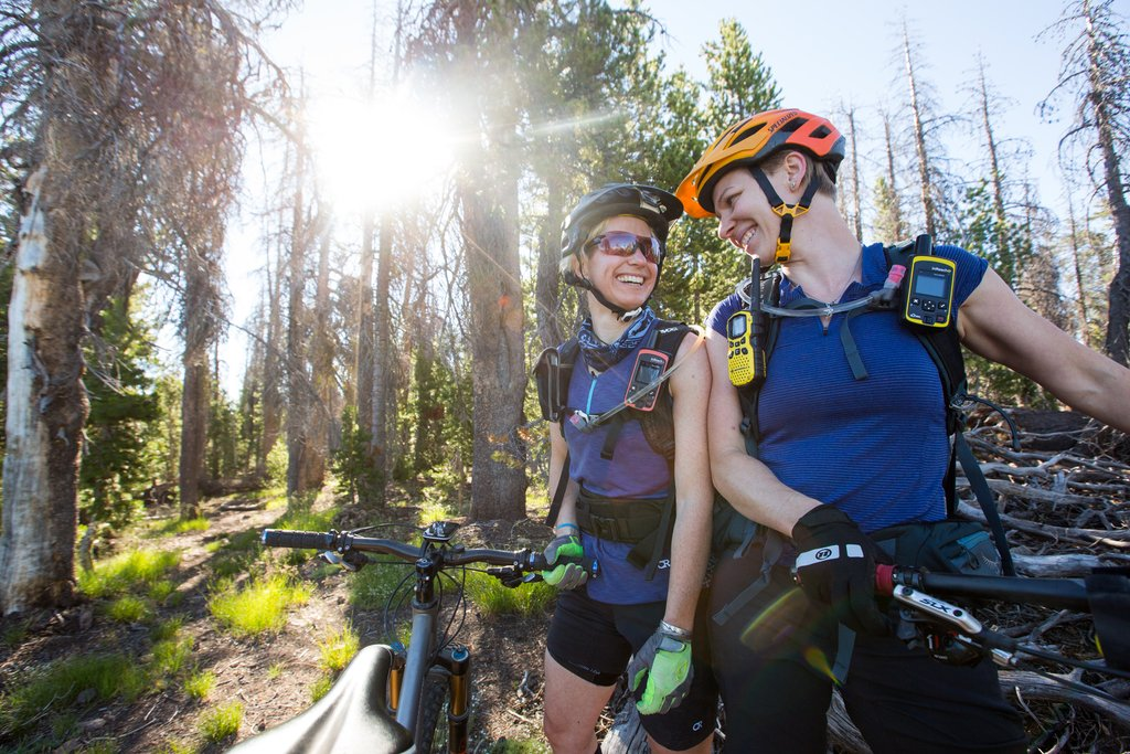 Sam Clark and Kim MCormack: the first two Oregon Timber Trail Pioneers