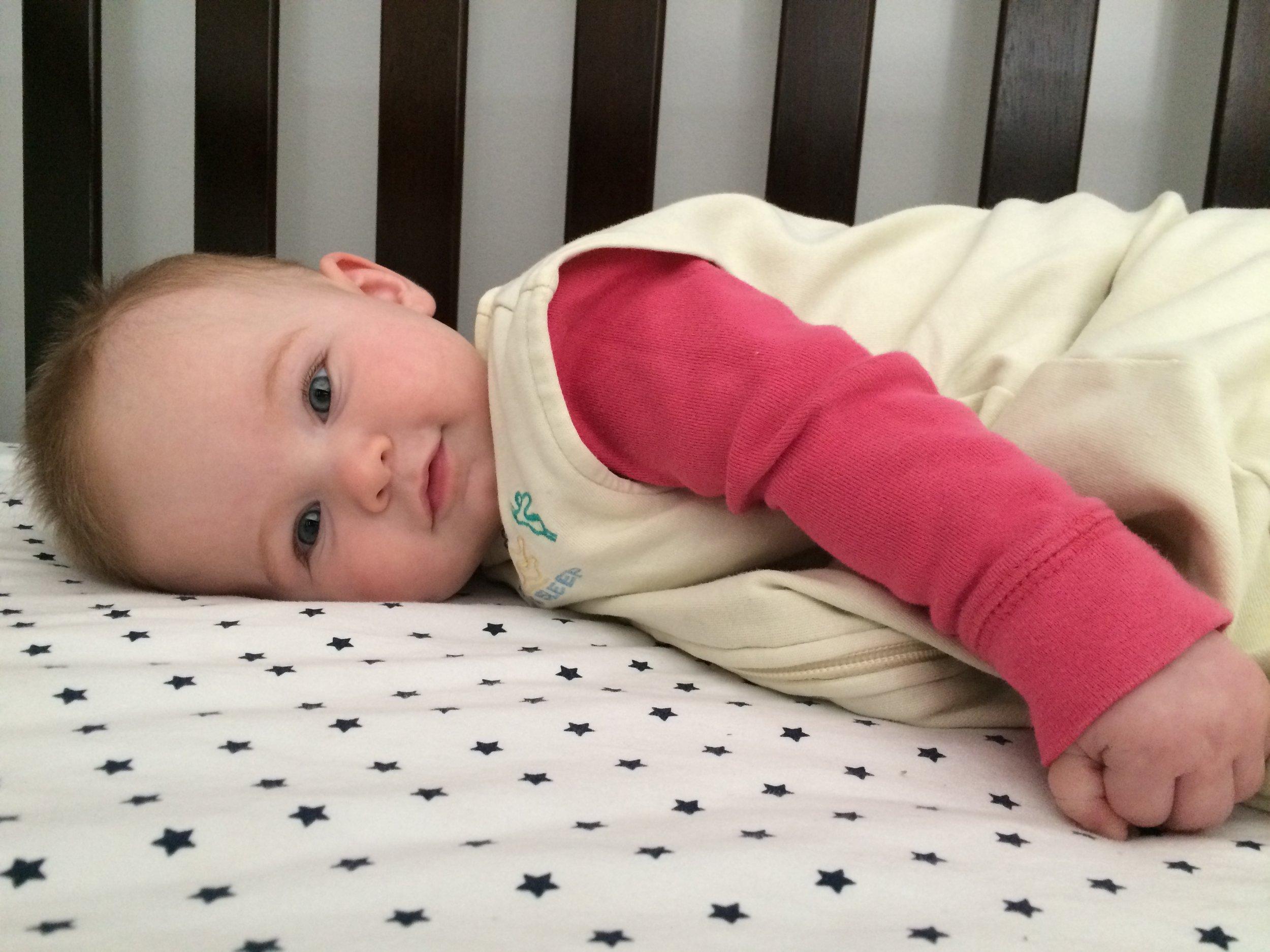 My baby soooo cute! - …especially after a REAL nap.
