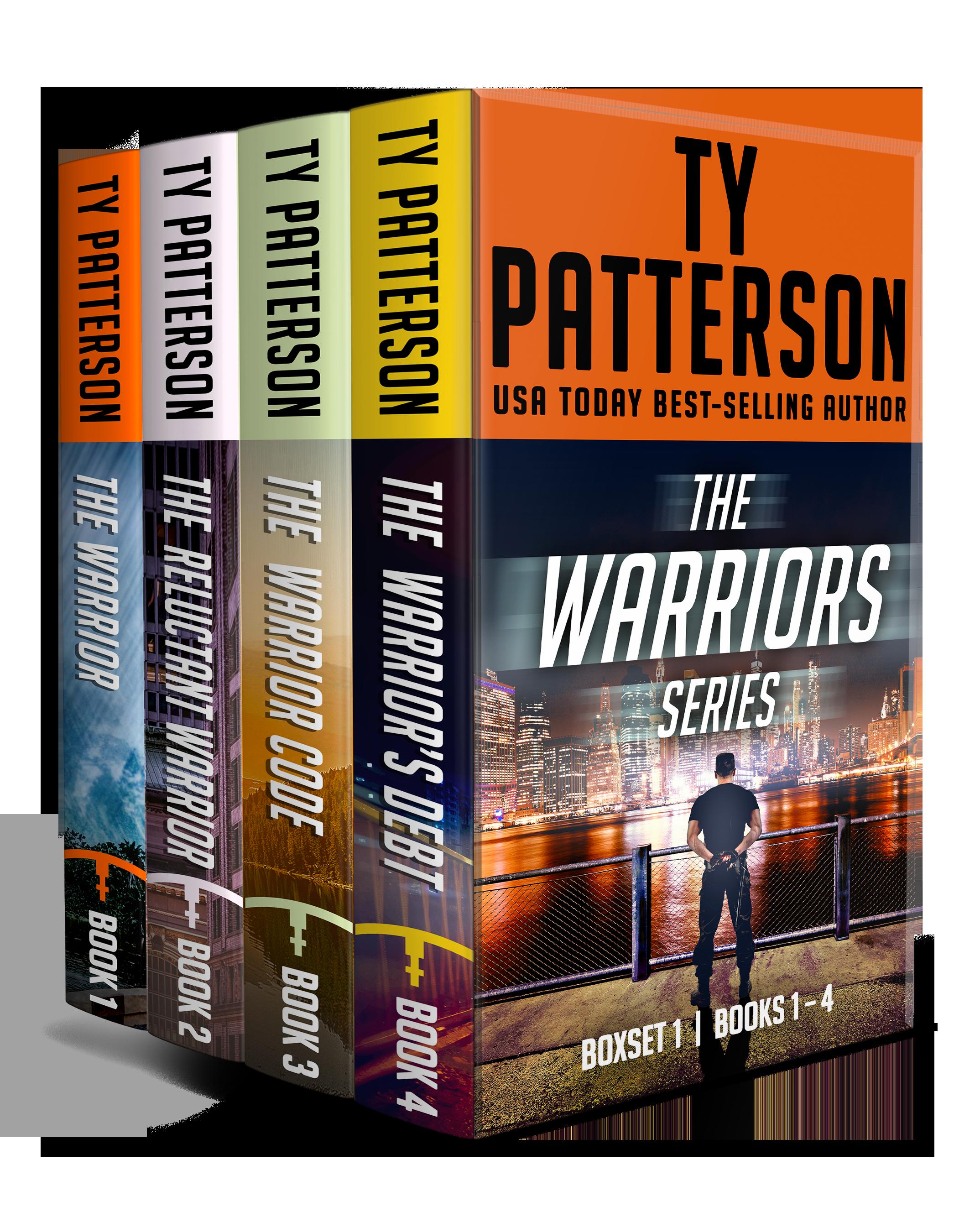 Warriors Series Box Set 1 3D mock.png