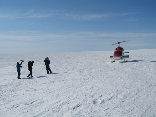 Swiss Camp, Greenland  (National Geographic)