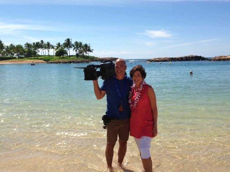 "With Meeghan Black  Oahu, HA (KING5, ""Evening Magazine"")"
