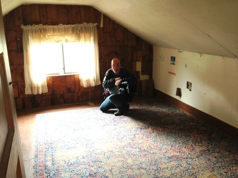 Kurt Cobain's Bedroom  Aberdeen, WA