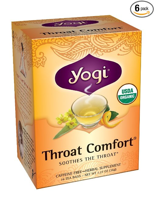 Yogi Throat Comfort Tea