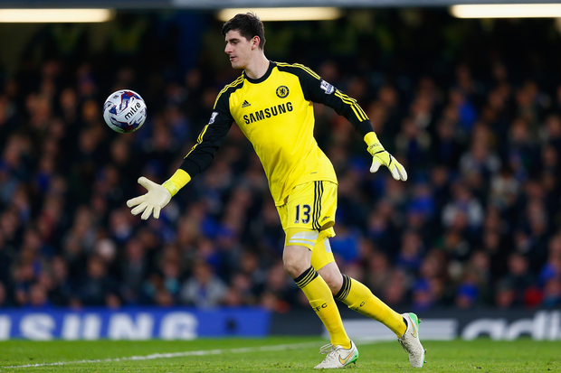 Having Courtois as your goalkeeper is like having a brick wall, except that it can move now.