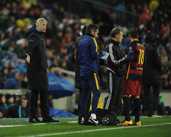 at Camp Nou on March 16, 2016 in Barcelona, Spain.