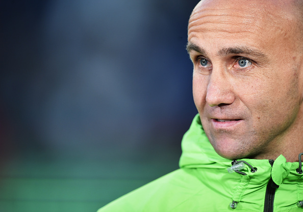 Schubert has been impressive since his hire as Gladbach's manager. (Photo by Stuart Franklin/Bongarts/Getty Images)