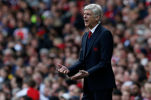 Wenger will have an even tougher job next season just finishing in the top four, let alone winning the league.(Photo via IAN KINGTON/AFP/Getty Images)