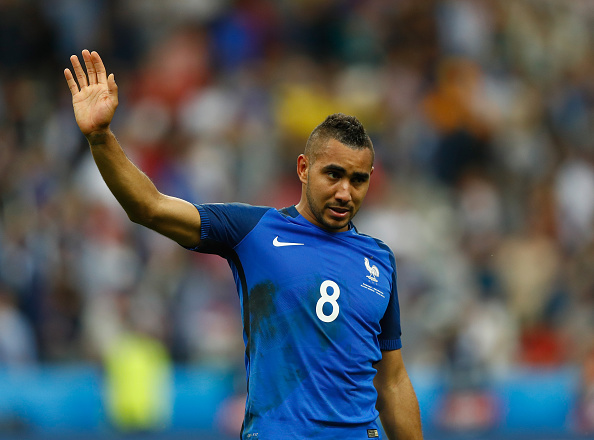 Dimitri Payet during EURO 2016. (Photo via Getty Images)