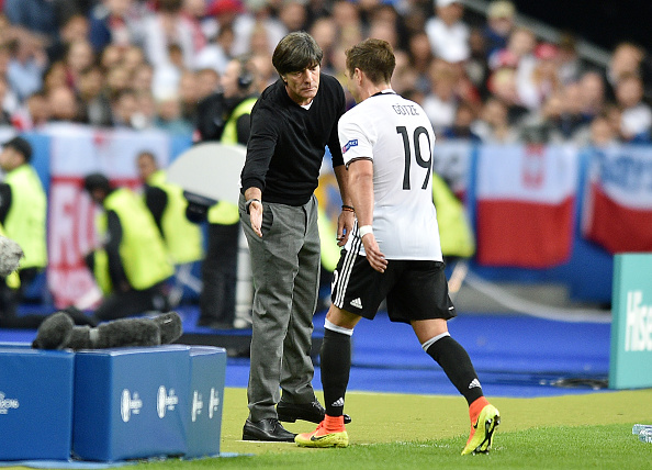 Mario Gotze needs to be moved to a more appropriate position in midfield. Credit: Lukasz Laskowski / PressFocus/MB Media