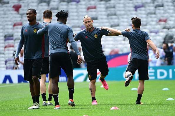 Nainggolan was very expressive of his frustration when left out of the 2014 World Cup squad for Belgium. (Photo via EMMANUEL DUNAND/AFP/Getty Images)