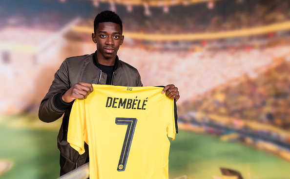 Ousmane Dembele is one of the brightest and youngest prospects around. (Photo via Getty Images)