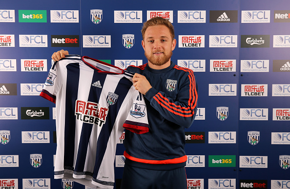 Pritchard was loaned to West Brom to further hone his skills. (Photo by Adam Fradgley - AMA/WBA FC via Getty Images)