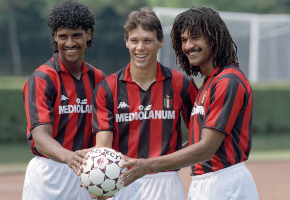 Aah! The golden days of Milan...(Photo by Bob Thomas/Getty Images)