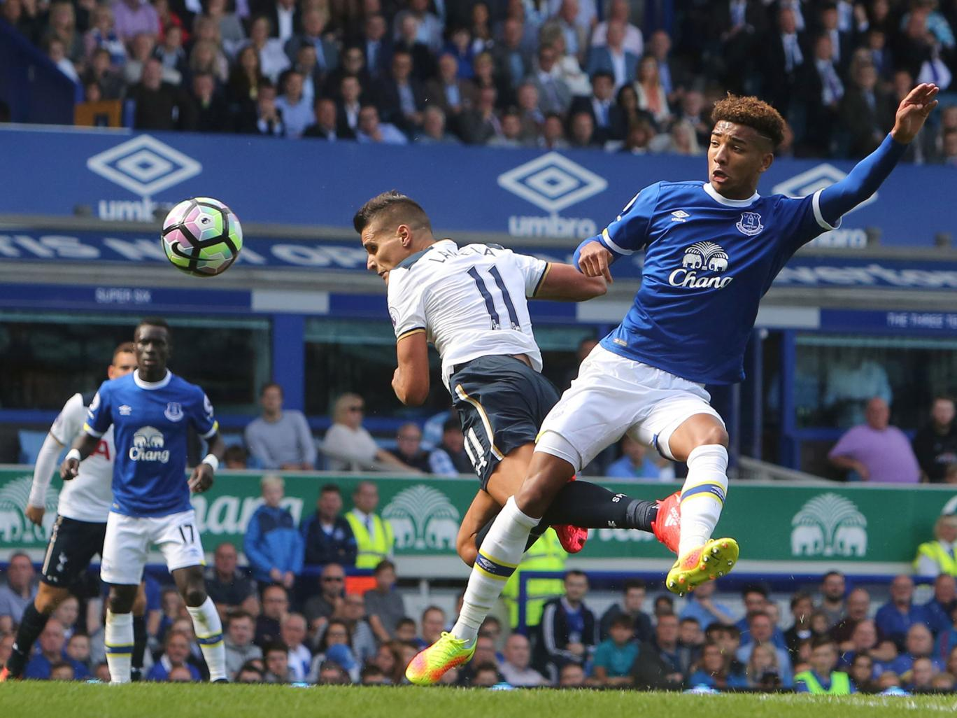 Lamela's opening goal epitomized his industry and technique. (Photo via Getty Images)