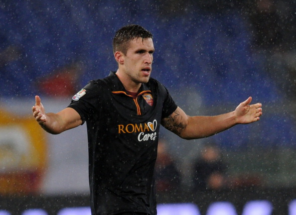 What up Strootman? Long time no see! (Photo by Giuseppe Bellini/Getty Images)