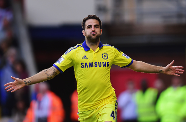 Fabregas could be in for a rough few weeks in the Chelsea bench. (Photo by Jamie McDonald/Getty Images)