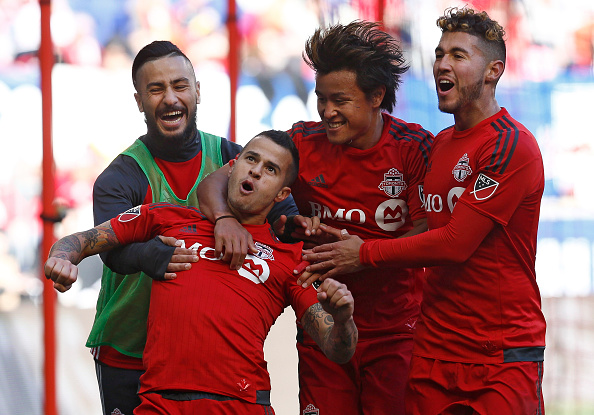 Giovinco could break every single damn record there is in the MLS before he retires. (Photo by Jeff Zelevansky/Getty Images)