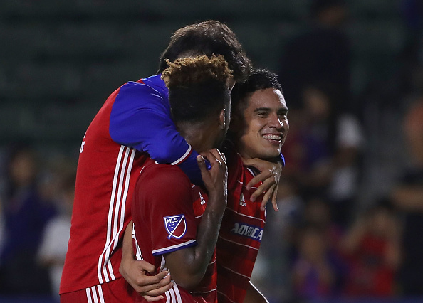 Coach Pareja has prioritized developing youth players, and it's paying off for him now. (Photo by Victor Decolongon/Getty Images)