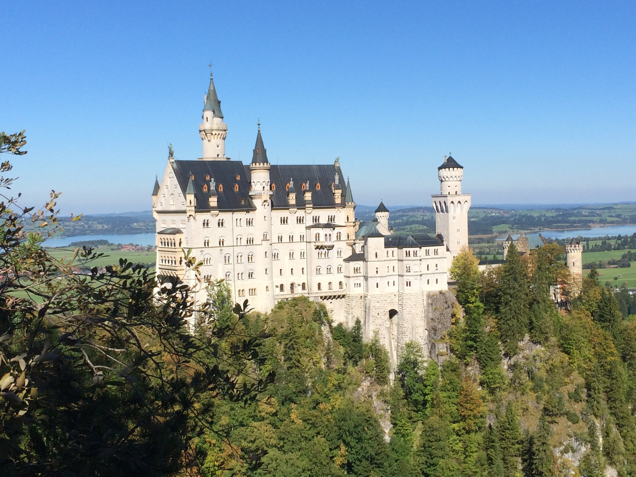 Among the sights I enjoyed in Germany was the scenic Neuschwanstein Castle, nestled in a valley near the Austrian border.
