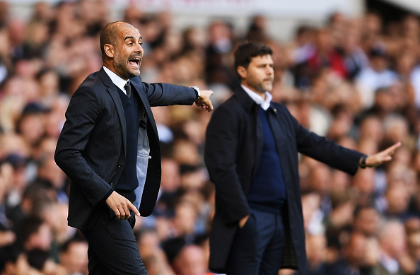 Pep Guardiola's City suffered their first defeat of the season in the hands of Spurs last time out. (Photo by Shaun Botterill/Getty Images)