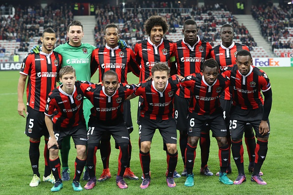 Nice's team is composed of some fine young players who are going above and beyond under Lucien Favre. (Photo by Valery Hache/AFP/Getty Images)
