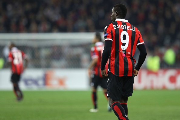 The tantalizing prospect of Mario Balotelli fulfilling his prophecy has surfaced yet again. Will he? Or will he not? (Photo by Valery Hache/AFP/Getty Images)