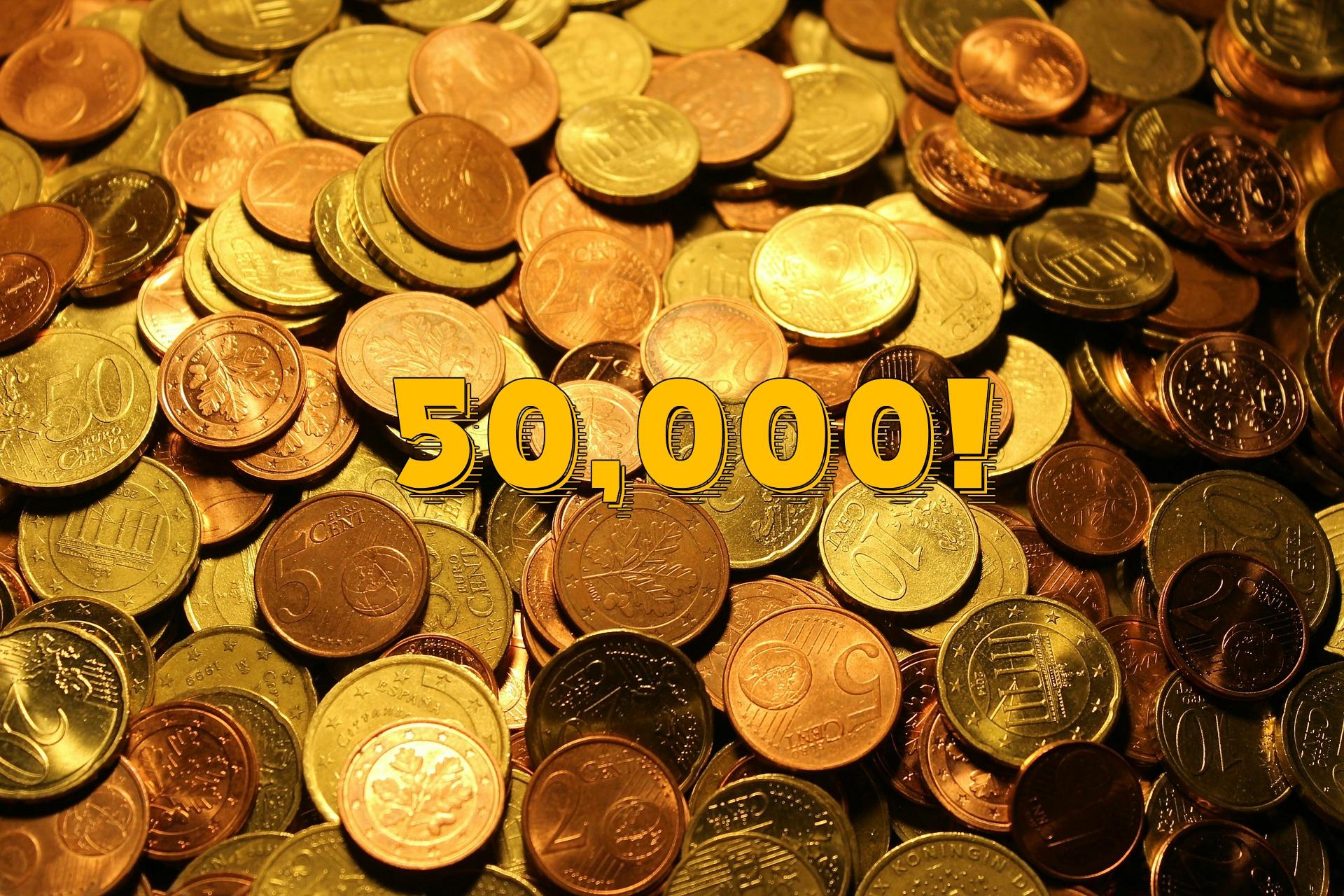 50,000 FM Coins