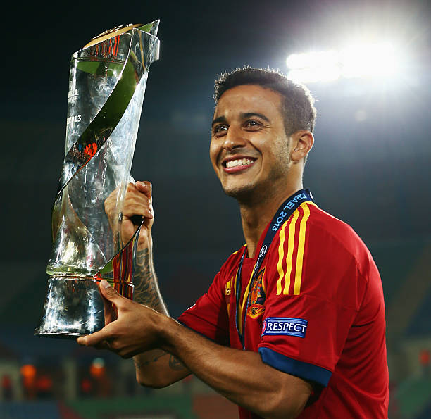 Thiago has enjoyed plenty of success in his young career so far. (Photo via Getty Images)
