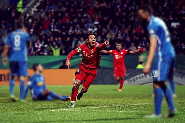 Thiago has turned up in the most decisive moments for Bayern. (Photo via Getty Images)