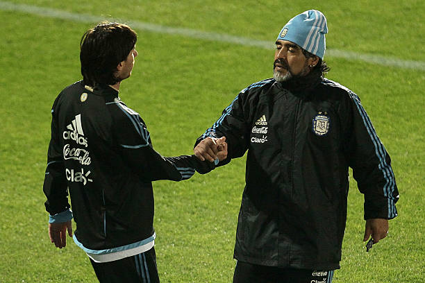 Maradona's coaching career has so far been quite the opposite of his playing career. (Photo by Chris McGrath/Getty Images)