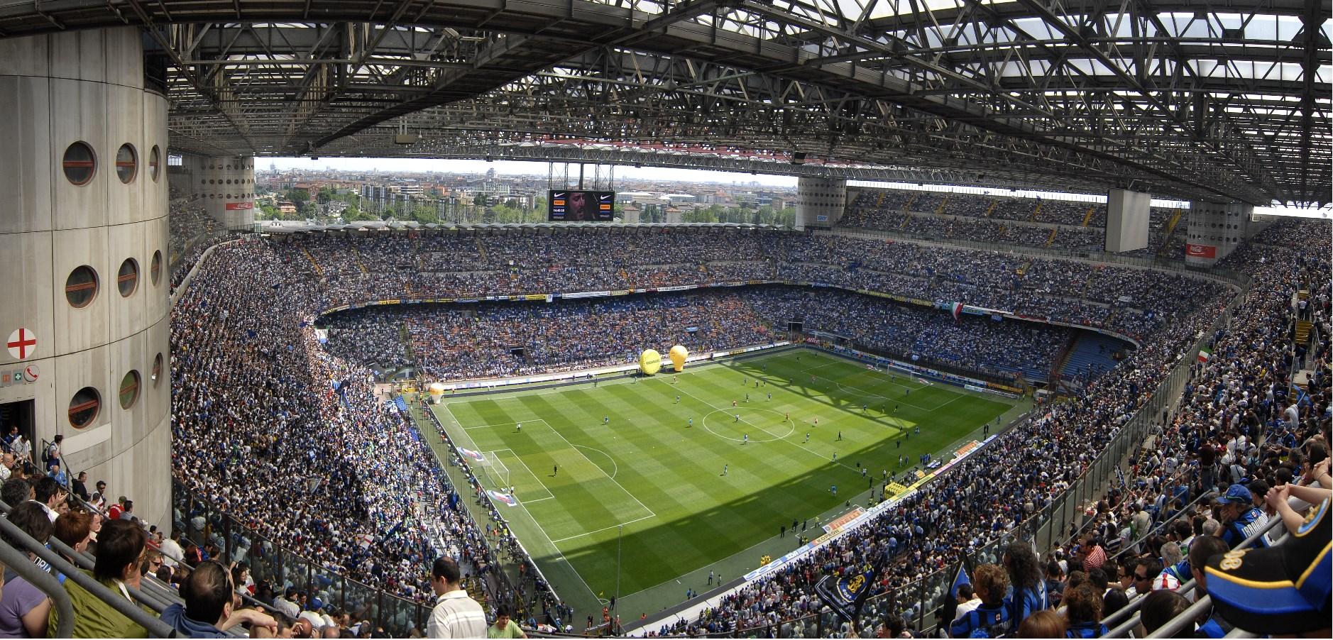 Guiseppe Meazza Stadium  ( Photo via Getty Images )