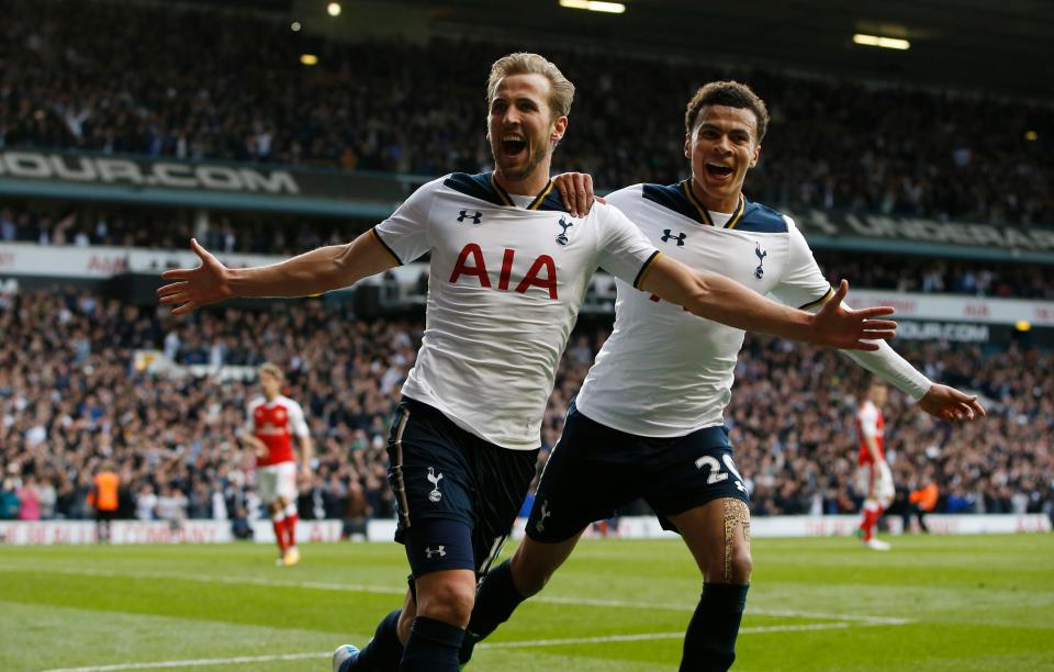 Kane and Dele are among the main drivers of the Pochettino revolution at Spurs. (PHOTO CREDIT: Reuters)