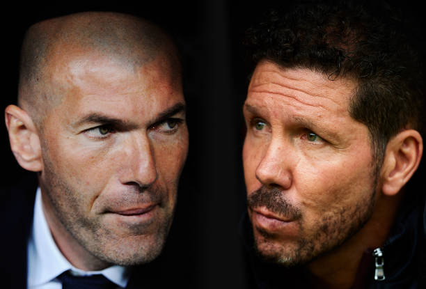 Simeone is not giving up on his side just yet. (Photo via Getty Images)