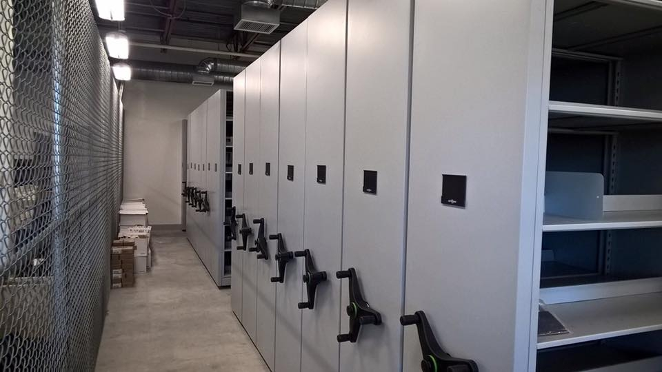 Ft. Wainwright High Density Filing System