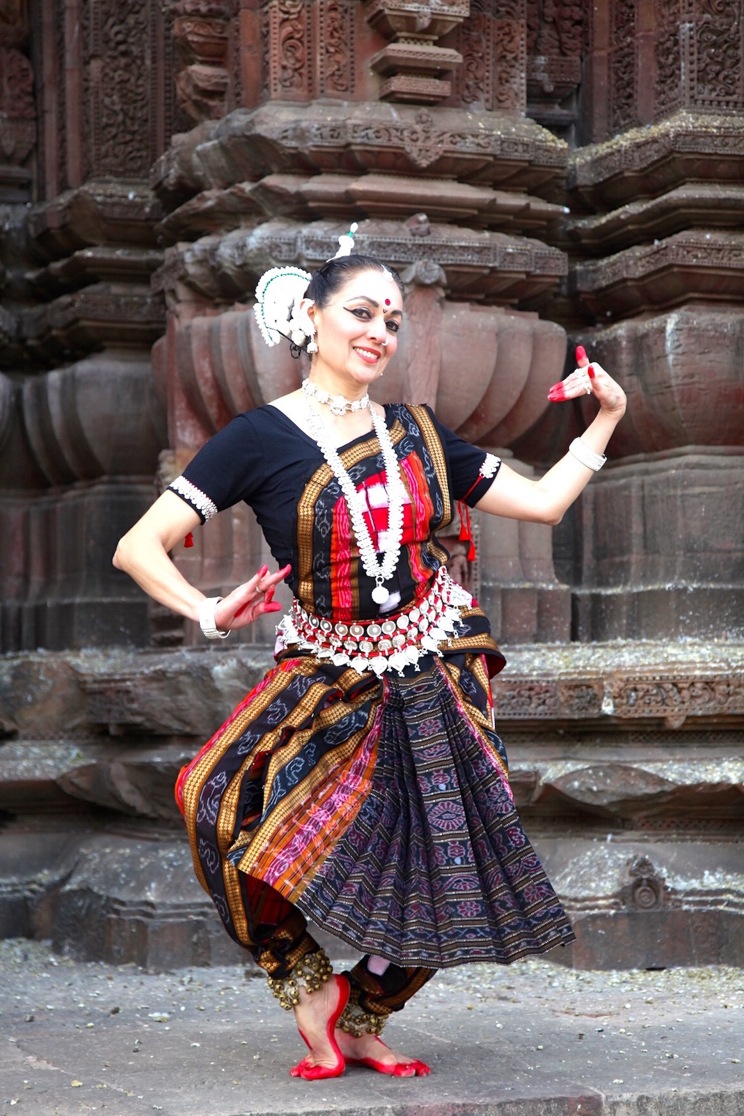 Sivani at Rajarani, Odisha 2014