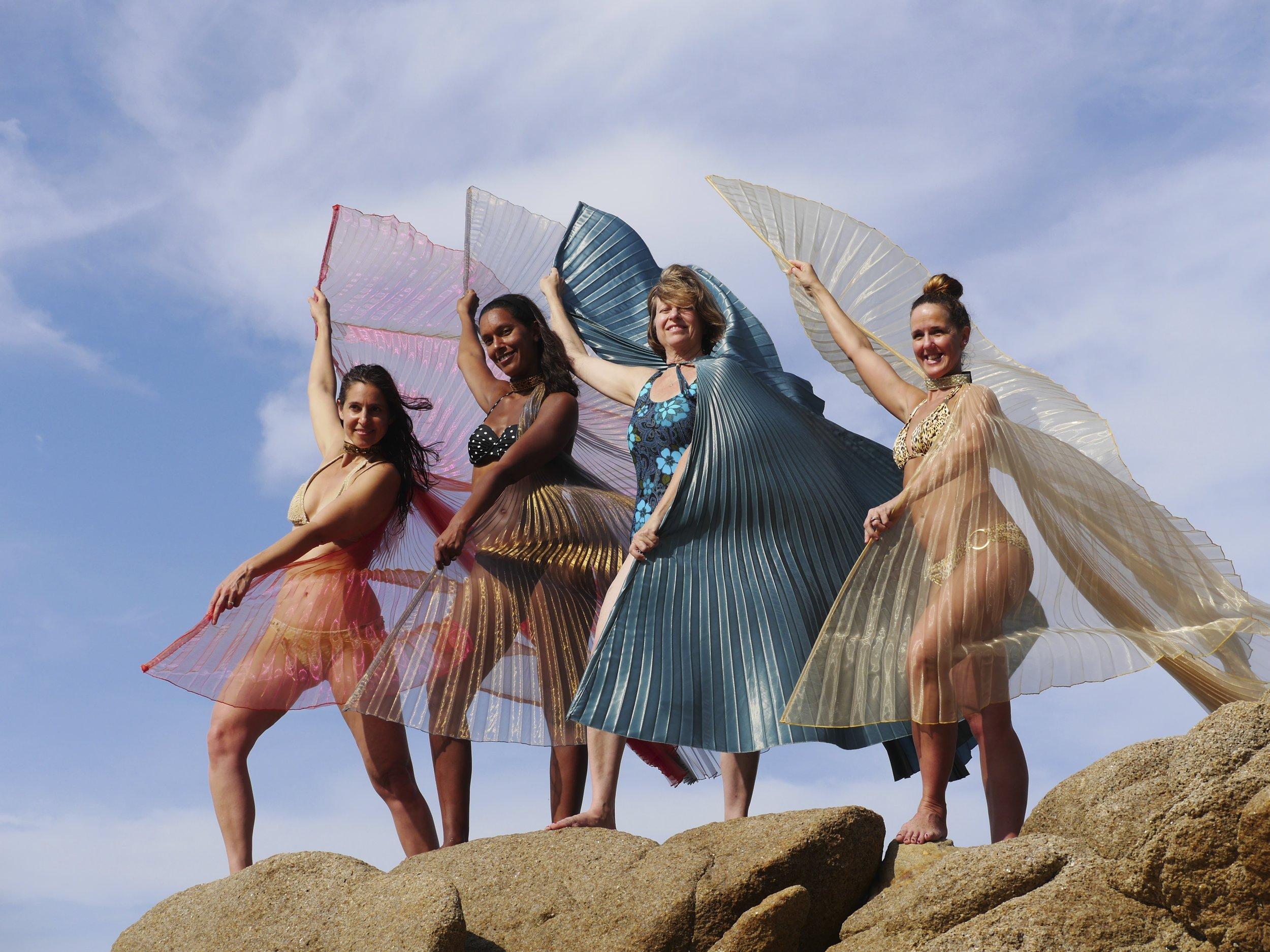 Winged Goddesses
