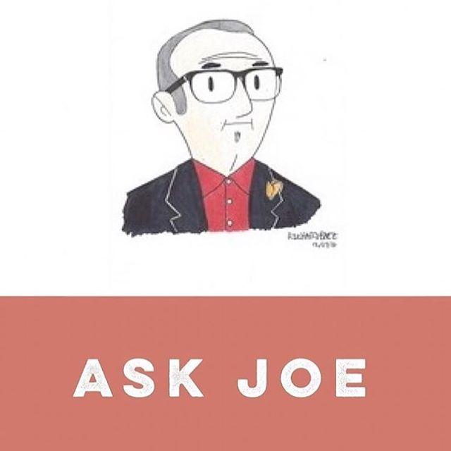 New Just Ask Joe. Link in bio!