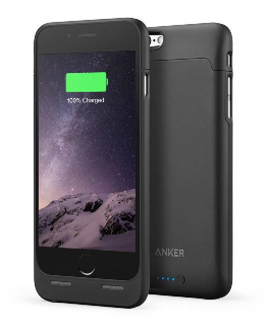 ANKER PHONE CHARGING CASE  Anker is a great brand for batteries and phone accessories. Your phone is a great tool to keep from getting lost while on the road, so stay charged with this streamlined case/battery combo.
