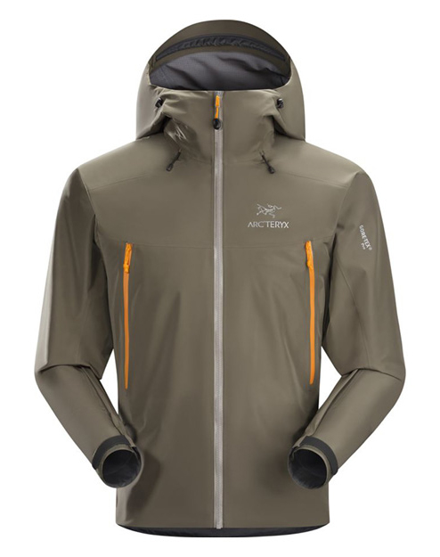 ARC'TERYX MEN'S BETA RAIN JACKET  Ain't no water getting in with these taped seams and toughlight-weight material. Great for layering.