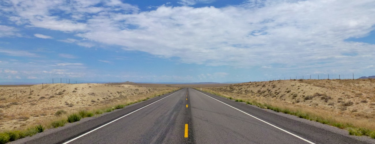 Highway in San Juan County, New Mexico.  Image via Granger Meador/Flickr.