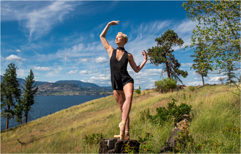 Photo: Emily Cooper / Dancer: Kelsey Hanna / wardrobe: Georgie vintage consignment / location: Bertram Creek regional Park, kelowna, BC