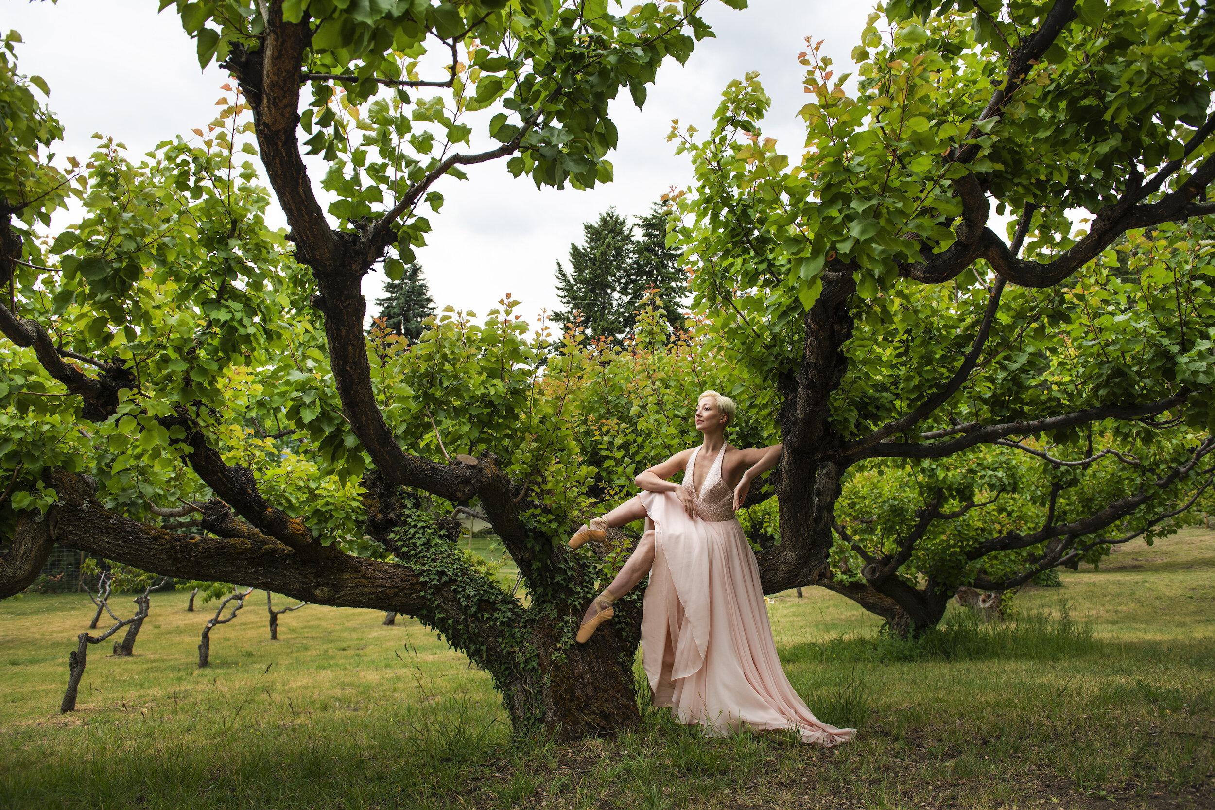 DANCER: KELSEY HANNA / PHOTO: EMILY COOPER / DRESS: BLISS BRIDAL