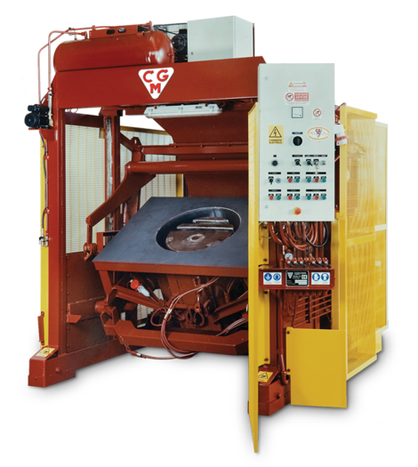 TB Machine for vibrated concrete products
