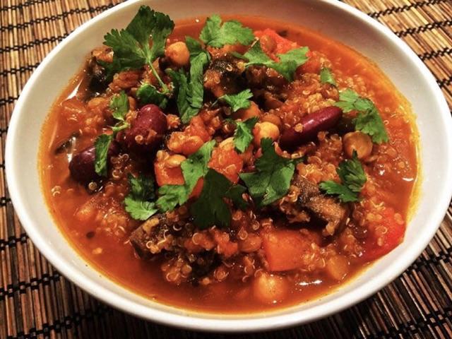 Smokey Protein Quinoa Chili