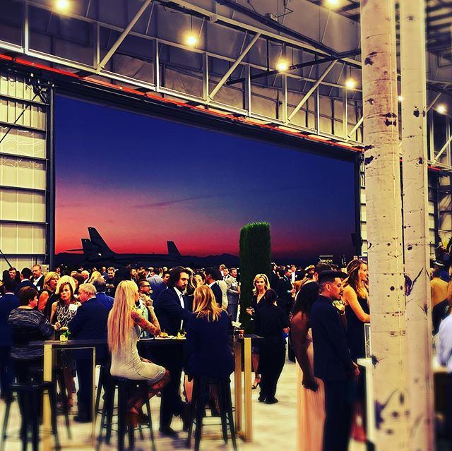 We had a wonderful night working on @flight_to_luxury with @imprinteventsgroup on Friday! #events #entertainment #whatsyournarrative